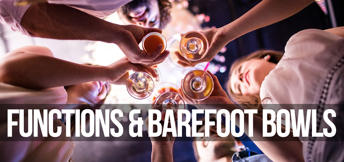 functions and barefoot bowls
